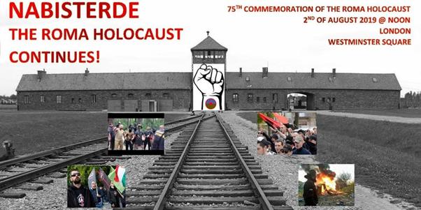 Roma Holocaust 75th Anniversary